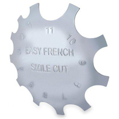 Stainless Iron Metal Easy French Nail Builder