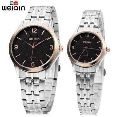 WEIQIN W00105 Couple Quartz Watch