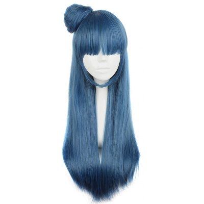 75CM Long Straight Wigs Anime Cosplay