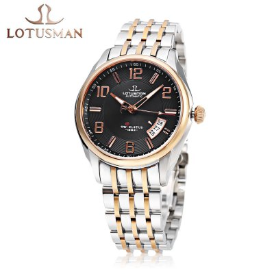 LOTUSMAN DM852SWA Men Automatic Mechanical Watch