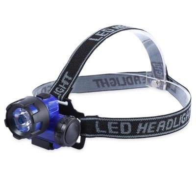 Water Resistant Cycling Flashlight LED Head Light Torch