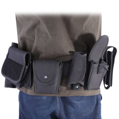 Lightweight Military Arm Belt Interphone Pistol Pouch