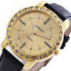 JUBAOLI 1135 Male Quartz Watch - GOLDEN