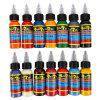 Solong 30ML / Bottle 14 Colors Tattoo Ink Fast Pigment Set - COLORMIX