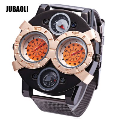 JUBAOLI 1129 Men Dual Movt Quartz Watch