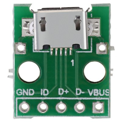 Micro USB to DIP Adapter PCB Converter