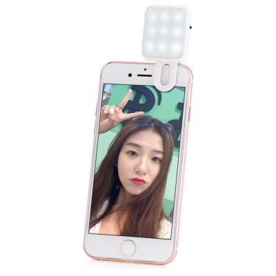 Mini 9 LEDs Selfie Flash Light