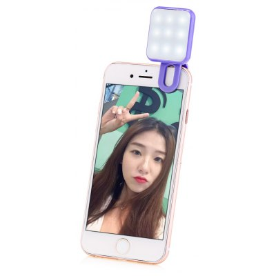 9 LEDs Self-timer Flash Fill-in Light for Universal Phone