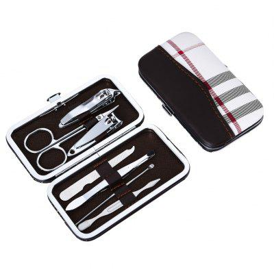 Portable Stainless Steel Nail Clippers Set