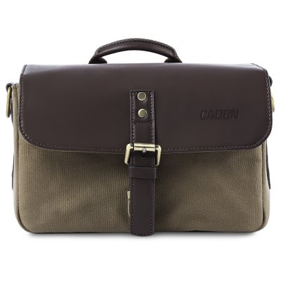 CADEN P1 Leather Shockproof Camera Bag Handbag for DSLR