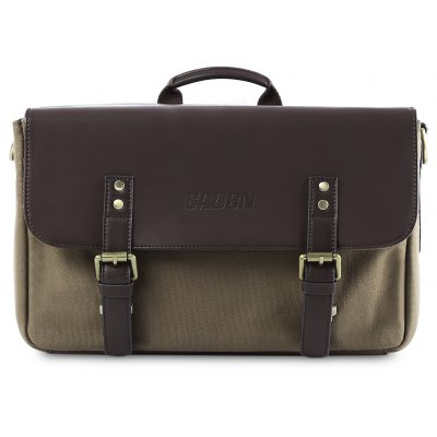 CADEN P3 Leather Shockproof Camera Bag Handbag for DSLR