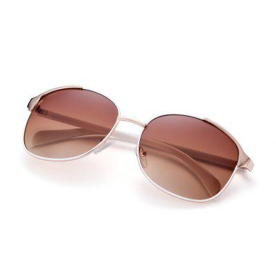 Oval Frame Polarized Sunglasses for UnisexStylish Sunglasses<br>Oval Frame Polarized Sunglasses for Unisex<br><br>Colors: Brown,Gray,White<br>Frame Length: 14.4 cm / 5.67 inch<br>Frame material: Alloy<br>Gender: Unisex<br>Group: Adult<br>Lens height: 5.1 cm / 2.01 inch<br>Lens material: Plastic<br>Lens width: 6 cm / 2.36 inch<br>Lenses Optical Attribute: Polarized<br>Nose: 1.4 cm / 0.55 inch<br>Package Contents: 1 x Unisex Sunglasses<br>Package size (L x W x H): 1.00 x 1.00 x 1.00 cm / 0.39 x 0.39 x 0.39 inches<br>Package weight: 0.047 kg<br>Product size (L x W x H): 14.40 x 14.00 x 5.10 cm / 5.67 x 5.51 x 2.01 inches<br>Product weight: 0.027 kg<br>Temple Length: 14 cm / 5.51 inch