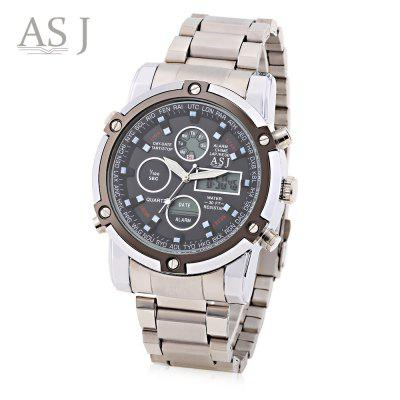 ASJ B110 Male Dual Movt Sports Watch