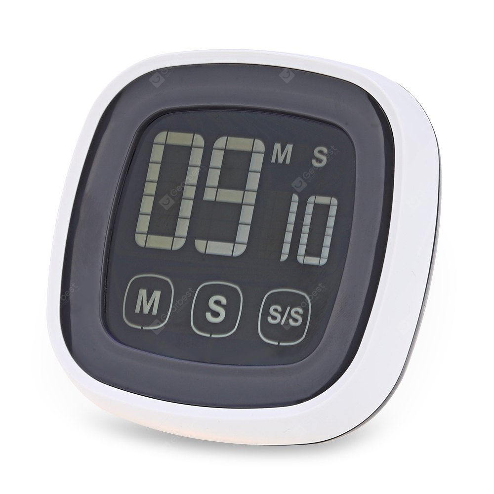 TS - BN54 Touch Screen Kitchen Timer with LED Backlight