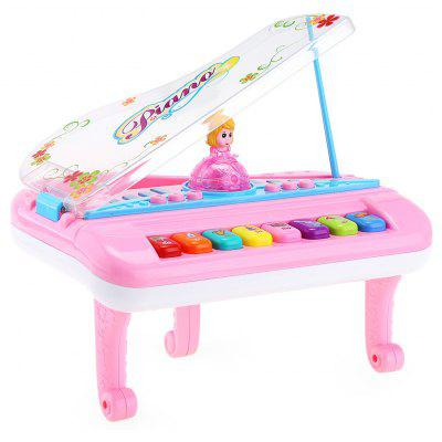 Buy COLORMIX KUNSHENG Kids Electronic Piano Music Keyboard for $16.39 in GearBest store