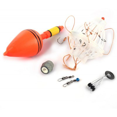 Fishing Float Bobber with Six Strong Hooks