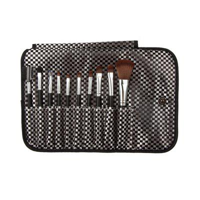 Makeup Brushes Tool Set with Lattice Storage Bag