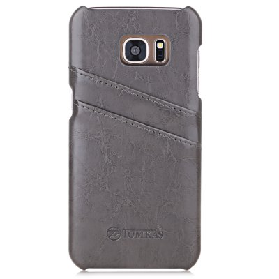 Tomkas PU Leather Protective Case for Samsung S7 Edge