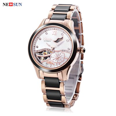NESUN LS9071 Women Automatic Mechanical Watch