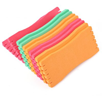 Foam 14CM 10pcs Sponge Fishing Tackle Line Board Holder