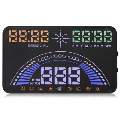 S7 Car 5.8 Inch OBDII HUD Head Up Display