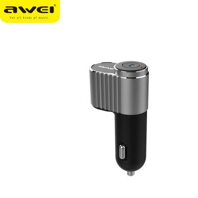 AWEI A871BL Bluetooth V4.1 Car Business Earphones Headset