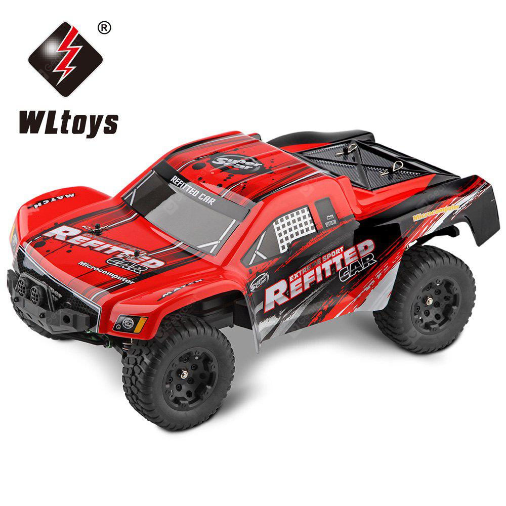 WLTOYS A313 1:12 Scale 2.4G 2WD RC Short Truck RTR