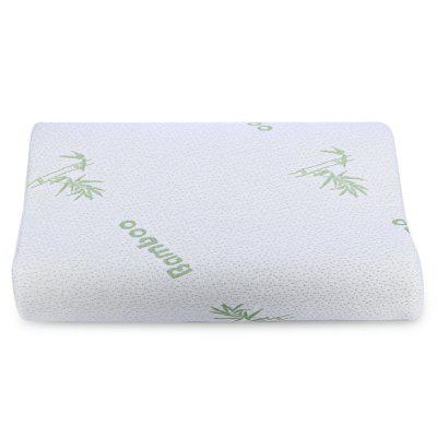 Bamboo Fiber Slow Rebound Memory Foam PillowPillow<br>Bamboo Fiber Slow Rebound Memory Foam Pillow<br><br>Package Contents: 1 x Slow Rebound Memory Foam Pillow<br>Package Size(L x W x H): 35.00 x 25.00 x 15.00 cm / 13.78 x 9.84 x 5.91 inches<br>Package weight: 0.535 kg<br>Pattern: Embroidered<br>Product Size(L x W x H): 50.00 x 30.00 x 8.50 cm / 19.69 x 11.81 x 3.35 inches<br>Product weight: 0.510 kg