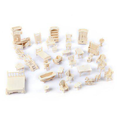 SEALAND G - P077 DIY 3D Deluxe Furniture Construction Kit
