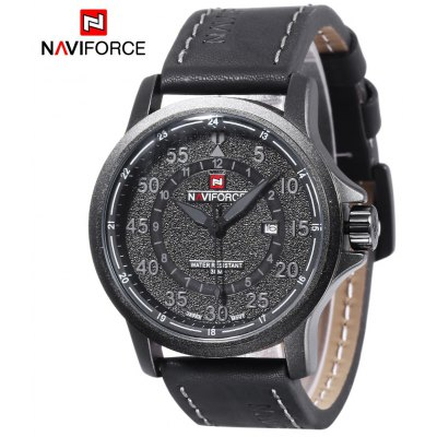 Naviforce 9076 Men Quartz Watch