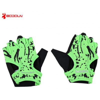 BOODUN 7150694 Paired Women Yoga Half Finger Gloves