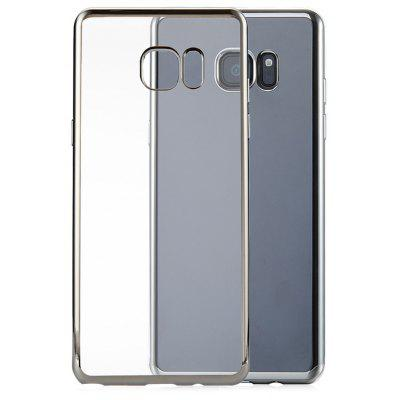 Buy SILVER Slim Electroplate Plating TPU Case for Samsung Galaxy Note 7 for $1.31 in GearBest store