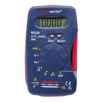 PEAKMETER M320 Multimeter Voltage Current Resistance