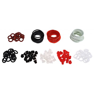 Tattoo Accessories Kit O-rings Rubber Bands with Small Storage Box