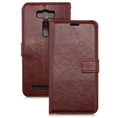 PU Leather Wallet Cover for ASUS ZenFone 2 Laser ZE500KL