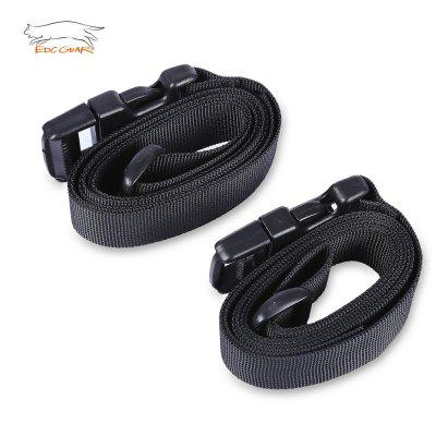 EDCGEAR 2pcs Adjustable Nylon  Tent Bind Band