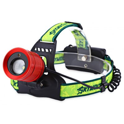 SKYWOLFEYE TLY - 94 Red Laser 3W LED Zooming Headlight
