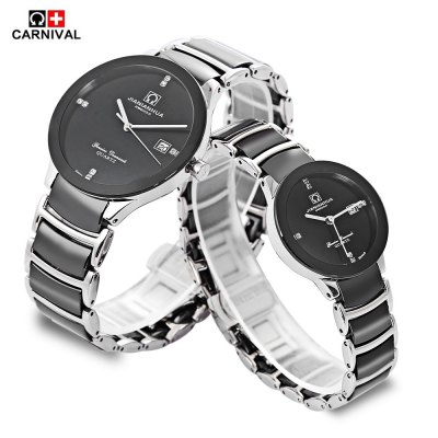 CARNIVAL 8558 Couple Quartz Watch