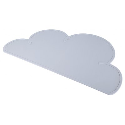 Gearbest Cloud Shape Placemat Dinnerware Table Mat - GRAY GRAY