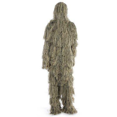 Hunting Woodland Camouflage Sniper Ghillie Suit Set