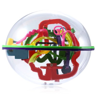 Creative Intellect 3D Labyrinth Ball Brain Teaser Puzzle GameOther Educational Toys<br>Creative Intellect 3D Labyrinth Ball Brain Teaser Puzzle Game<br><br>Age Range: &gt; 3 years old<br>Material: Plastic<br>Package Contents: 1 x 3D Labyrinth Ball<br>Package Size(L x W x H): 23.00 x 20.00 x 20.00 cm / 9.06 x 7.87 x 7.87 inches<br>Package weight: 0.6170 kg<br>Product weight: 0.2260 kg