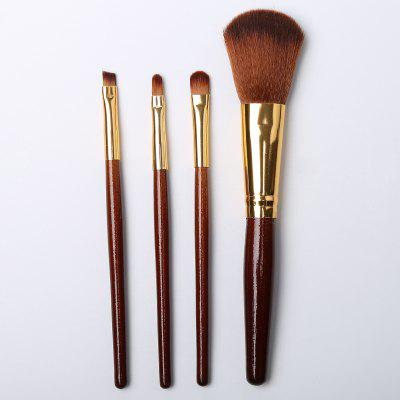4pcs Makeup Cosmetics Liquid Foundation Blending Brush Set