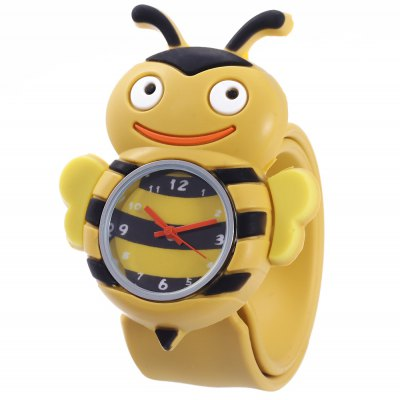 Children Quartz Watch Bee Case Wristwatch