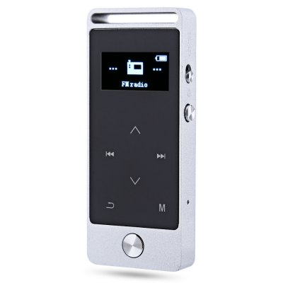 BENJIE S5 OLED 8GB grabadora de voz digital Reproductor de audio MP3