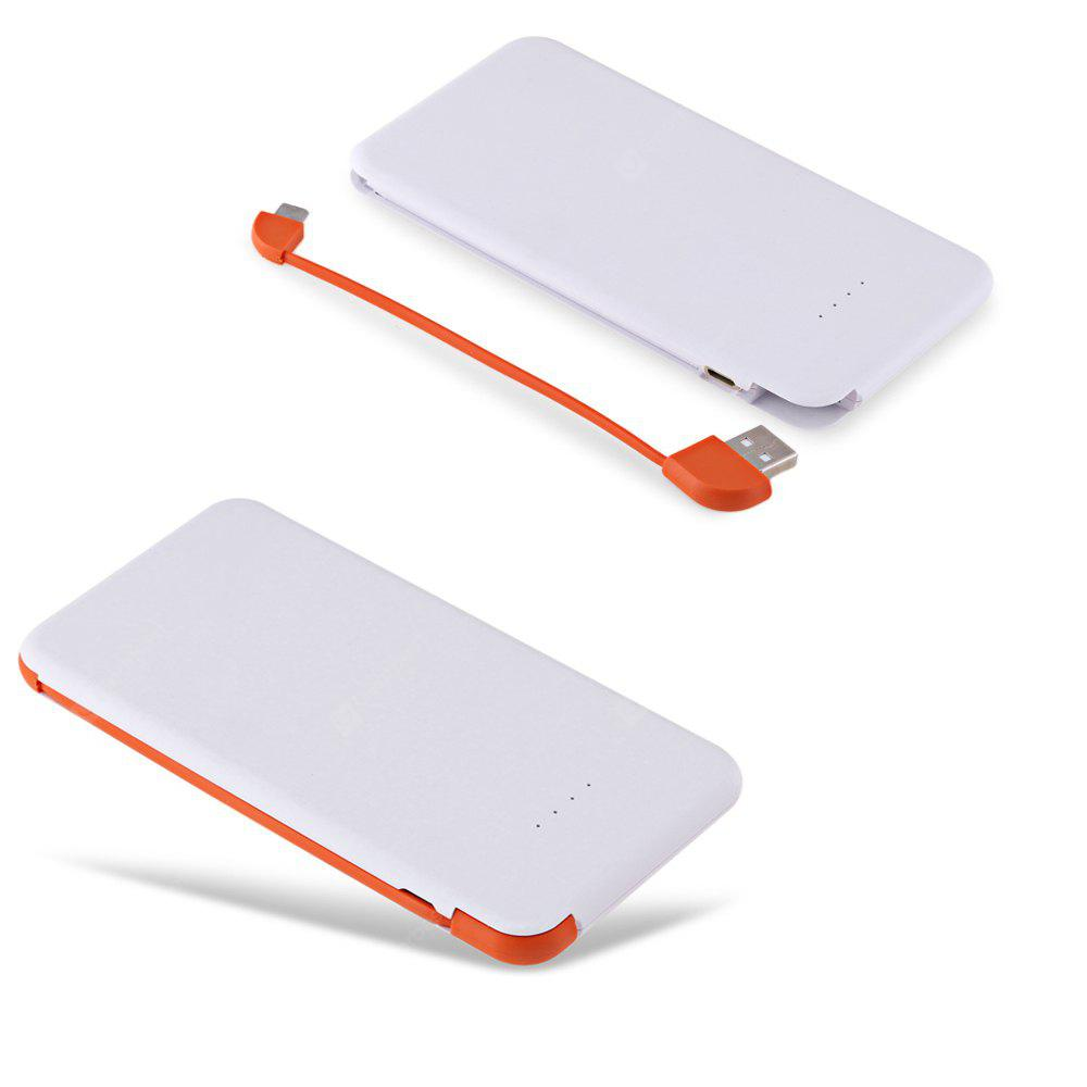 4000mAh Power Bank Built-in Micro USB Cable