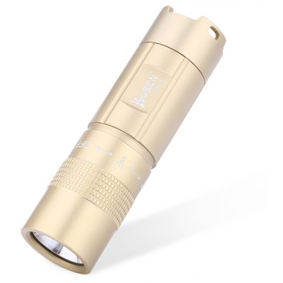 Buy GOLDEN WUBEN E347 300LM CREE XP-G2 LED Flashlight for $18.16 in GearBest store