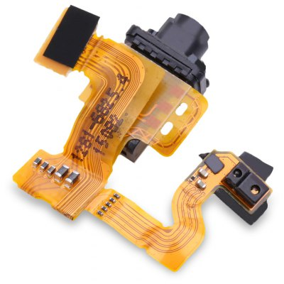 Headphone Audio Earphone Replacement Flex Cable for Sony Z3 / Z3 Mini / M55W