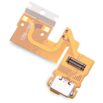 Micro USB Charge Board Flex Cable for Sony Tablet Z SGP311