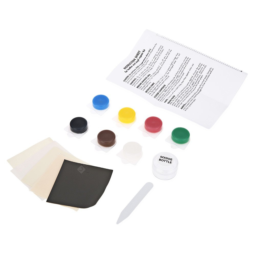 Car Seat Crack No Heat Liquid Leather Vinyl Repair Kit - $8.38 Free ...