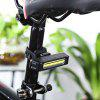 Rechargeable Bike Accessory Tail Light - WHITE